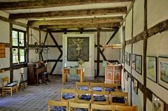 Die freundliche kleine Dorfkirche vonZielow