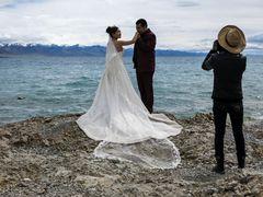 Die frierende Braut