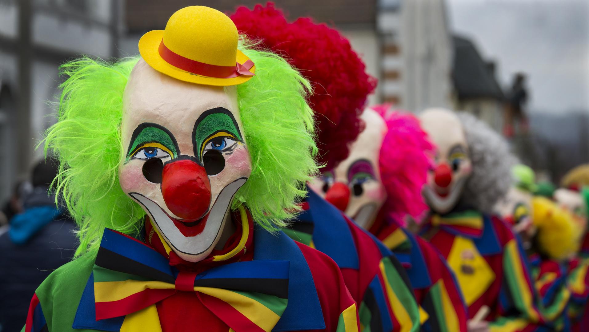 Die fröhlichen Clowns