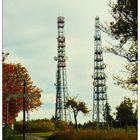 Die Funktürme auf dem Schwanberg