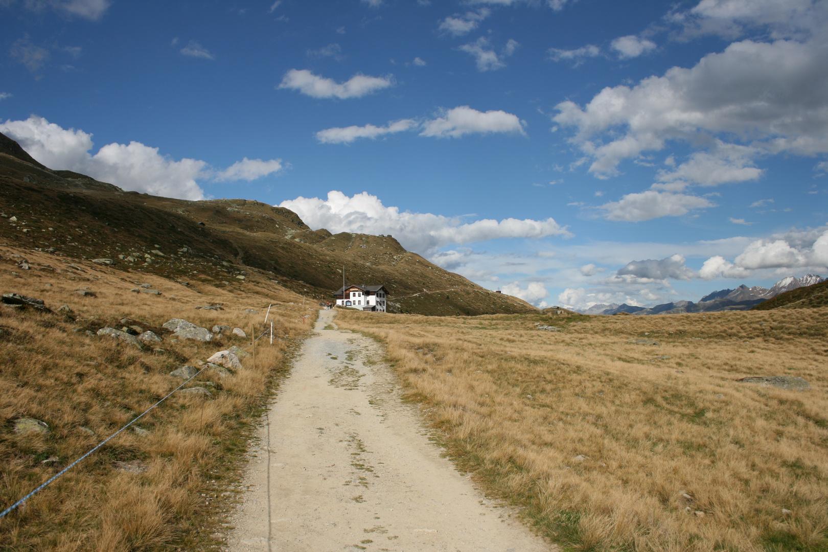 Die Furri-Hütte