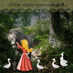 """""""Die Gänsemagd"""" 117. Digiart Challenge"""