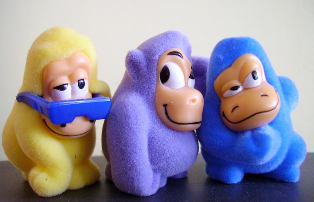 ...die ganze Affenbande brüllt: