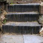 die Gartentreppe