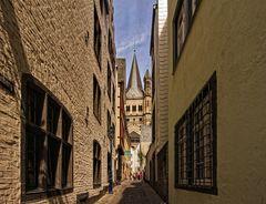 Die Gassen von Köln