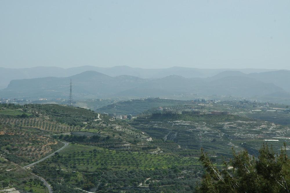 Die Gebirge Vom Südlibanon