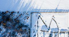 Die geheime Botschaft eines Schneeschiebers