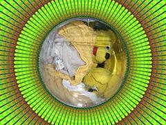 Die gelben Bären in der fraktalen Waschmaschine