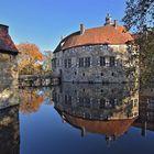 Die gespiegelte Burg Vischering....