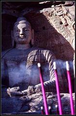 Die Geste der Meditation...