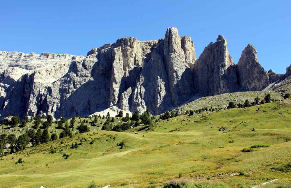 Die gewaltigen Dolomiten