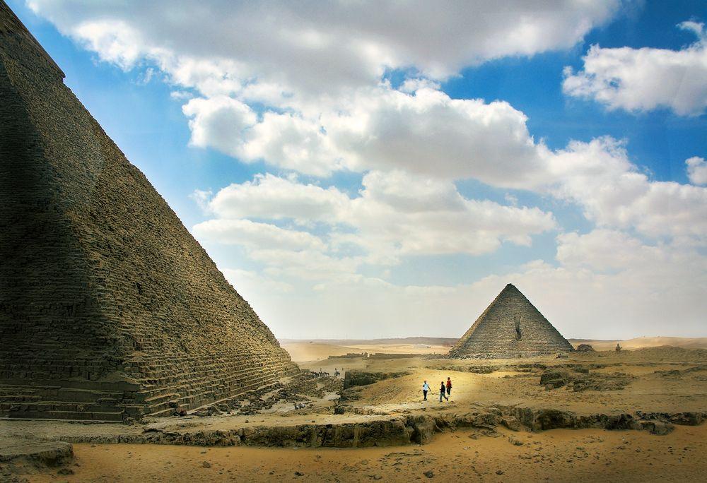Die Giseh-Pyramiden