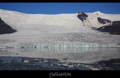 Die Gletscherkante