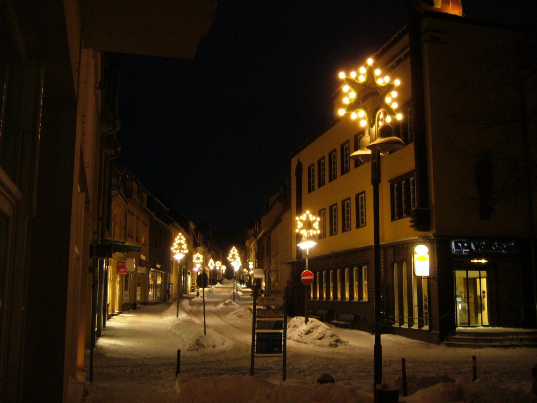 Die Göpenstraße am 26.12.2010