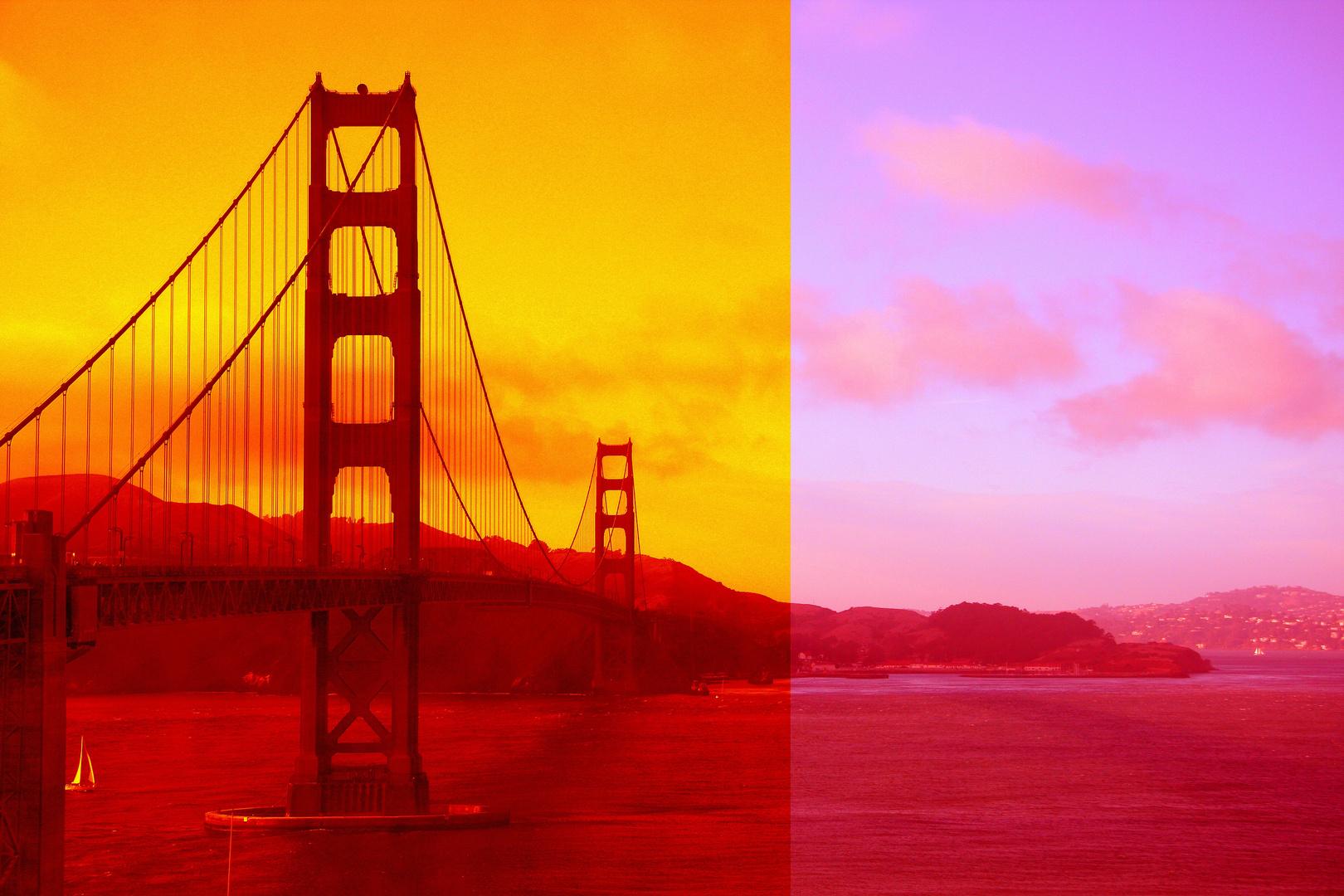 """Die """"Golden Gate"""" mal anders ..."""