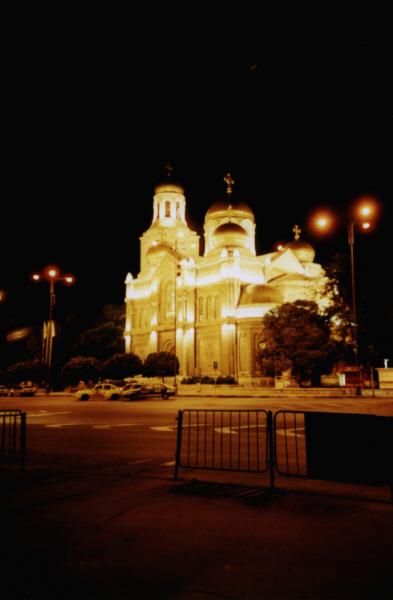 """Die """"goldene"""" Kathedrale von Varna"""