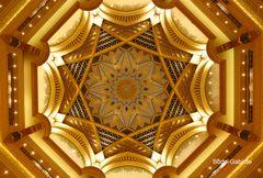 Die goldene Sternen-Decke