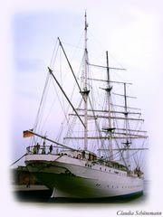Die Gorch Fock im Hafen von Stralsund!