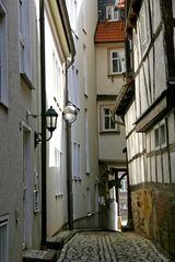 Die Gothaer Schlossgasse