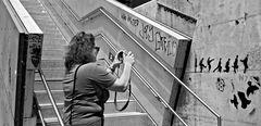 """Die """"Graffitifotografin"""""""