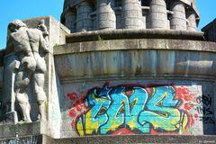 """""""Die Graffitis gehen mir doch am A.... vorbei"""""""