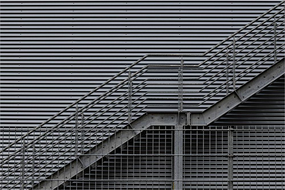 die graue Treppe