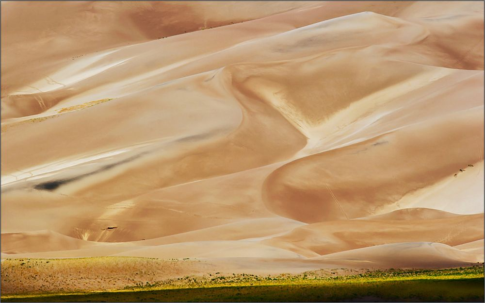 "die ""great sand dunes"" - menschenleer"