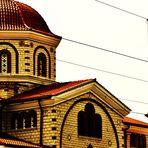 die griechisch  -  orthodoxe Kirche in Esslingen
