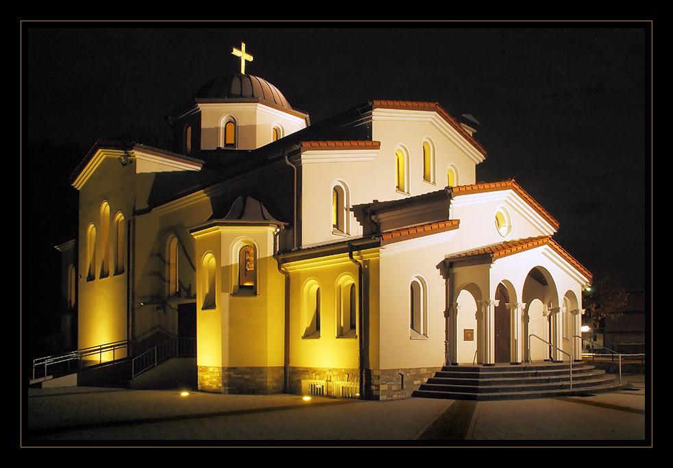 Die griechisch-orthodoxe Kirche in Herten...