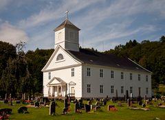 Die größte Holzkirche Norwegens