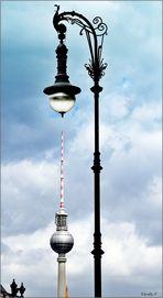 - die größte Laterne von Berlin... -