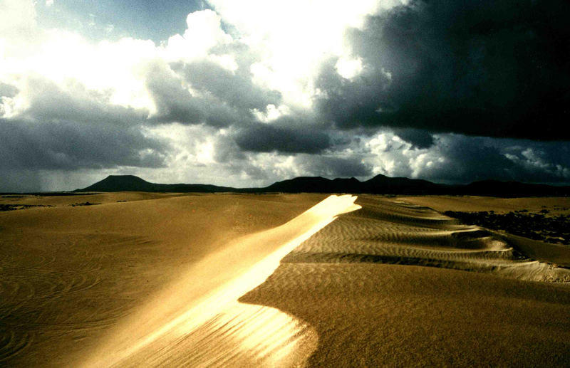 Die große Düne auf Fuerteventura