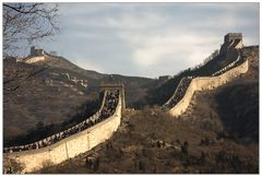 Die Große Mauer...
