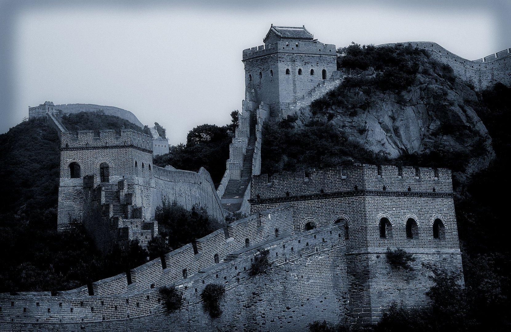 Die Große Mauer bei Jinshanling...