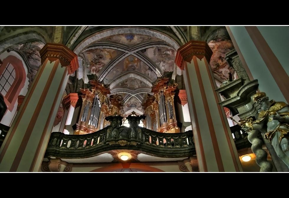 Die große Orgel...
