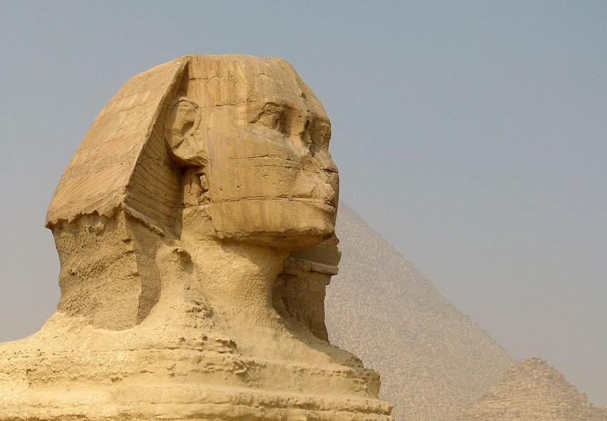 ...die grosse Sphinx von Gizeh...