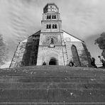 Die große Treppe mit St. Michael