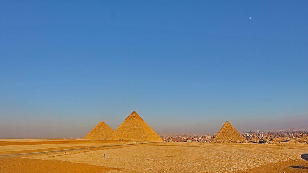 Die großen Pyramiden