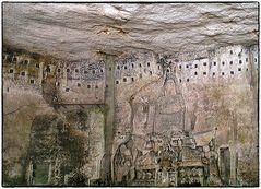 Die Grotte des Jüngsten Gerichts in Brantôme (15. Jhd)