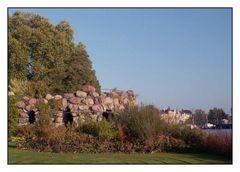 Die Grotte gehört zur Orangerie des Schweriner Schlosses
