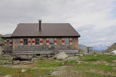 Die gute alte Edelrauthütte.