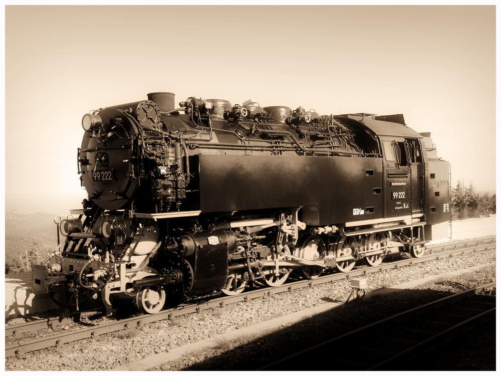 die gute alte Eisenbahn