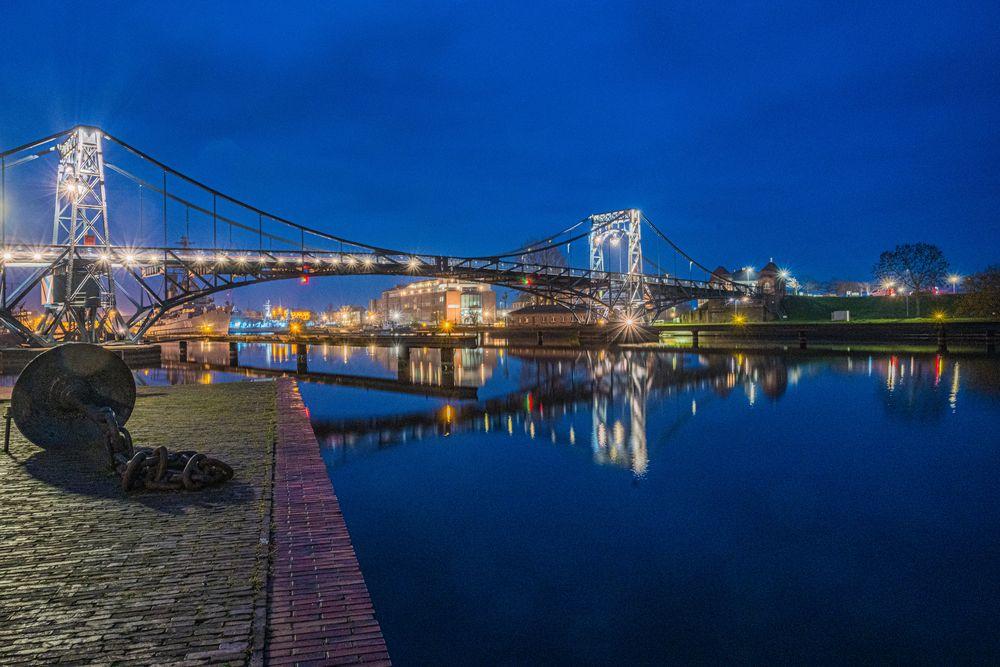 Die gute alte Kaiser-Wilhelm-Brücke
