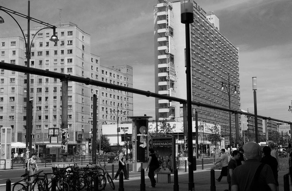 Die gute alte Ostseite Berlins