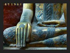 Die Hände des Buddha