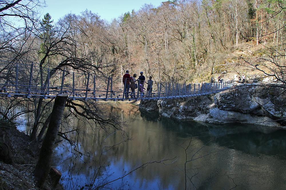 inzigkofen hängebrücke