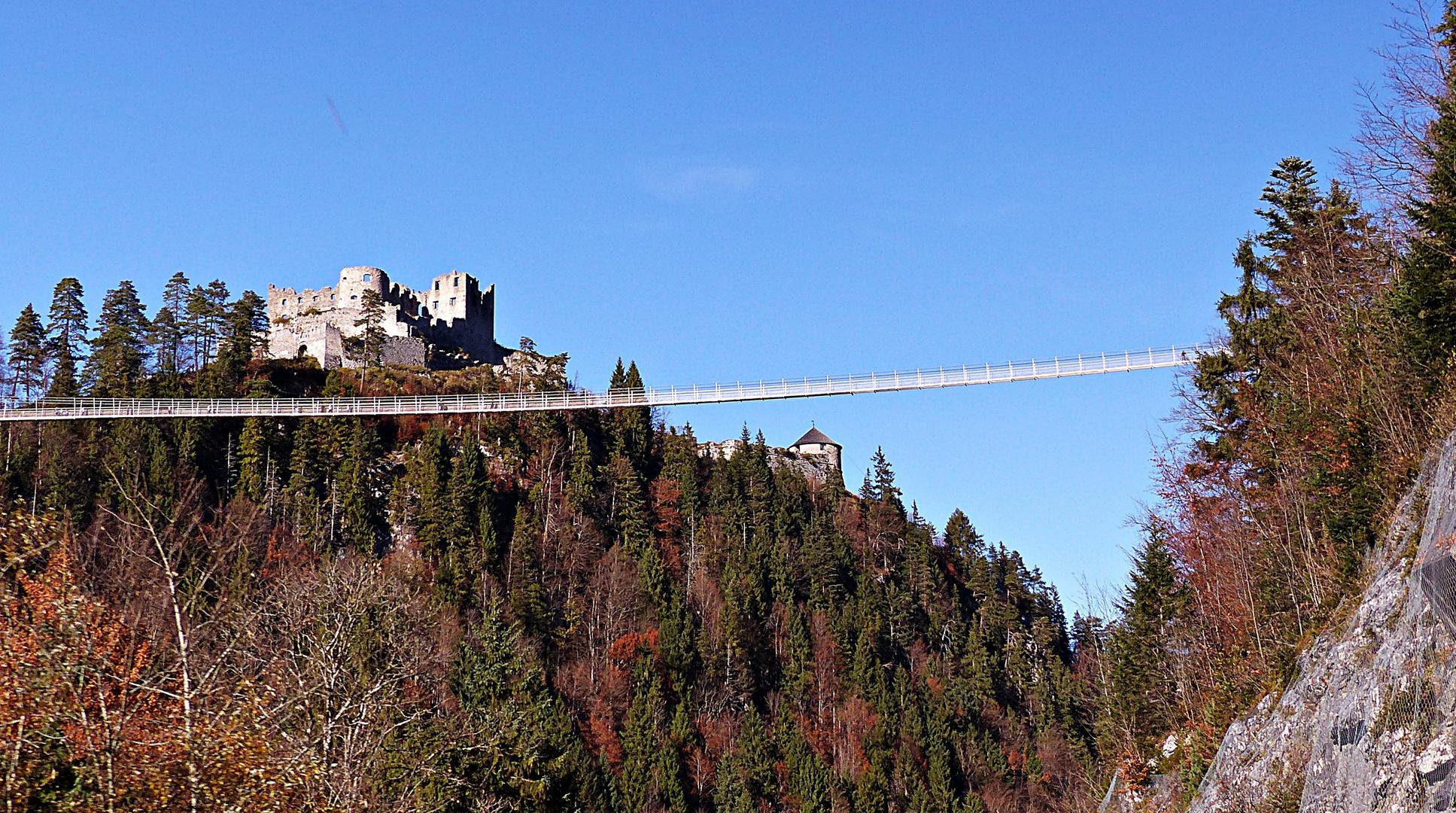 Die Hängebrücke Highline179