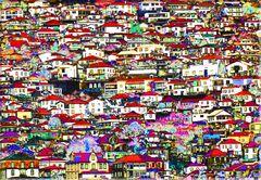 die Häuser von Madeira
