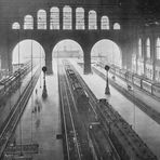 Die Halle des Anhalter Bahnhofs