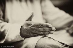 Die Hand des Imam